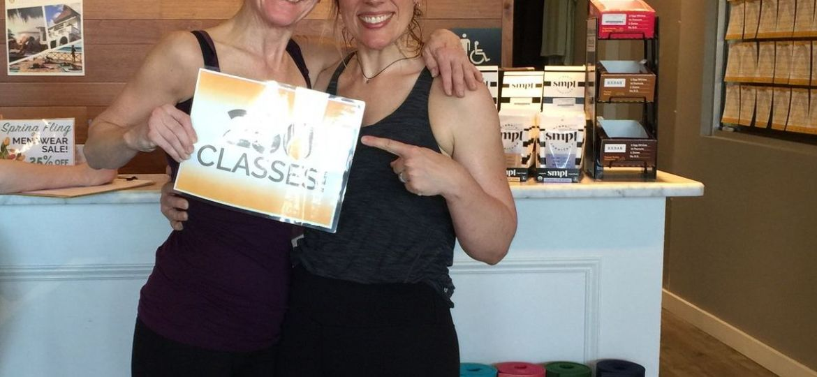 Linda Kossman Finishes 250 Classes